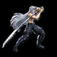 Art Sephiroth sans manteau Ultimate
