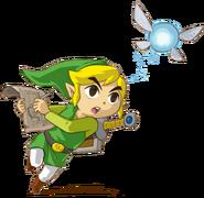 Link Phantom Hourglass