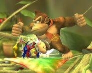 Donkey Kong attaques Brawl 7