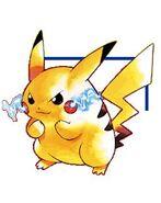 Art Pikachu version jaune