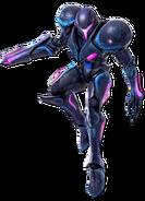 Art Samus sombre violet Ultimate