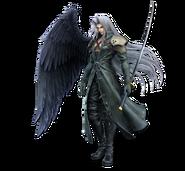 Art Sephiroth vert Ultimate