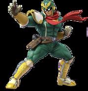 Art Captain Falcon vert Ultimate