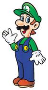 Art Luigi SMB3
