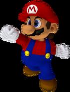 Mario trofeo (smash2 melee)