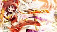 SWR Hakurei Shrine Theme The Ground's Colour is Yellow