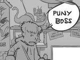 Whack Your Boss Superhero Style Kid