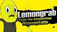 Smash bros Lawl X Character Moveset - Lemongrab