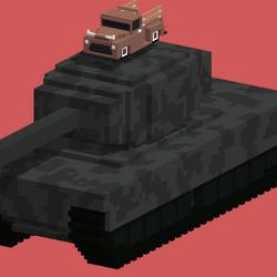 Tank (Smashy Road Wanted 2 Mystery Vehicle)