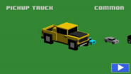 Pickup truck smashy road