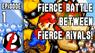 Fierce Battle Between Fierce Rivals