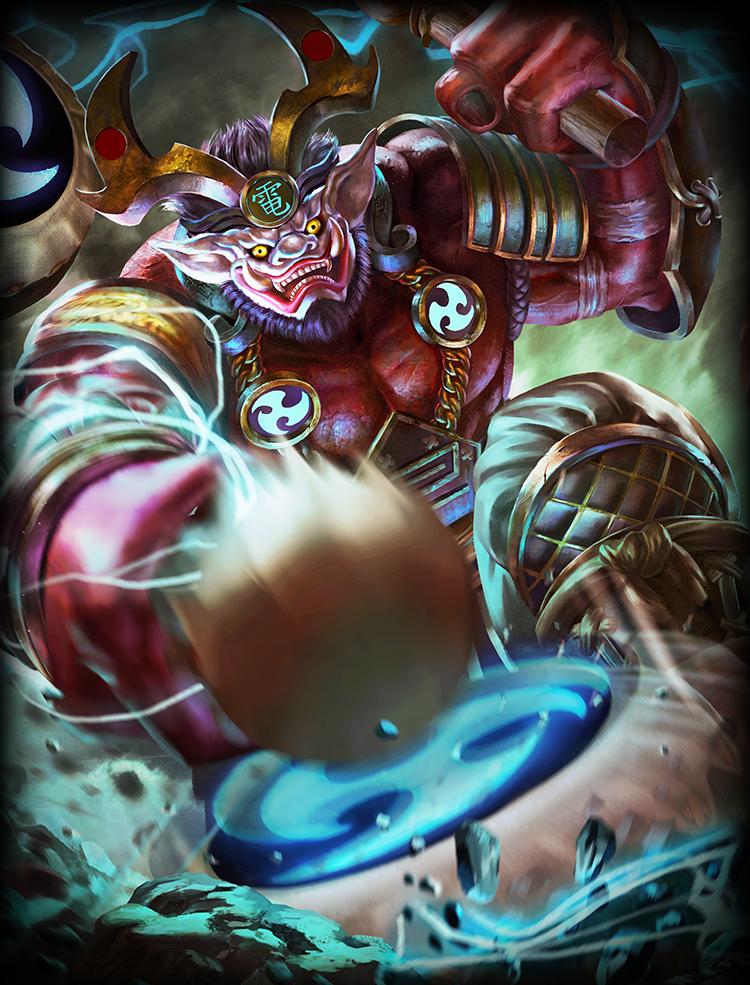 Raijin Smite Wiki Fandom Storm god of thunder and lightning. raijin smite wiki fandom