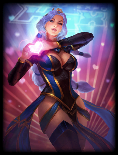 SWC 2018 Queen Skin card