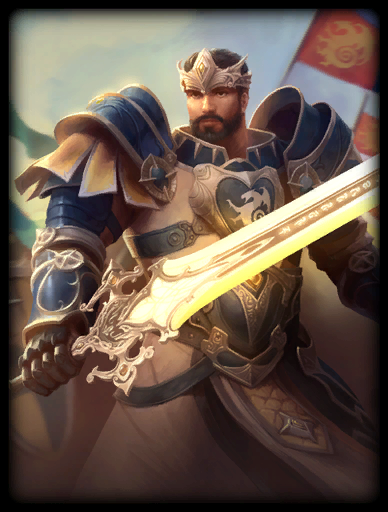 Excalibur's Light Skin card