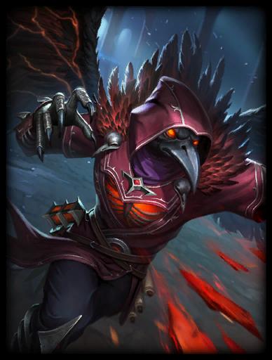 Raven King Skin card