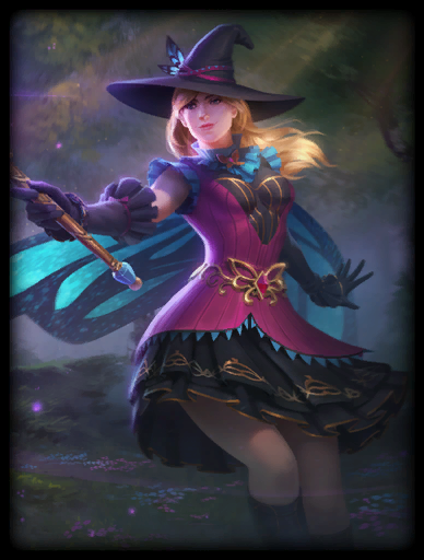 Witching Hour Skin card