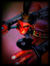 Original Red Demon Skin card