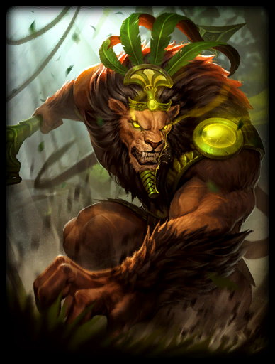 Jungle King Skin card