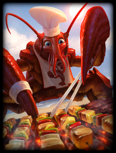 Chef's Special Skin card