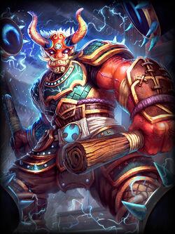 Thunder's Roar Raijin