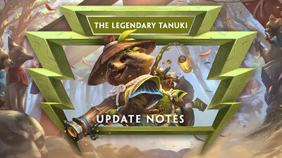 7.12 - The Legendary Tanuki Update