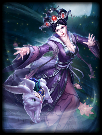 Bright Moon Skin card