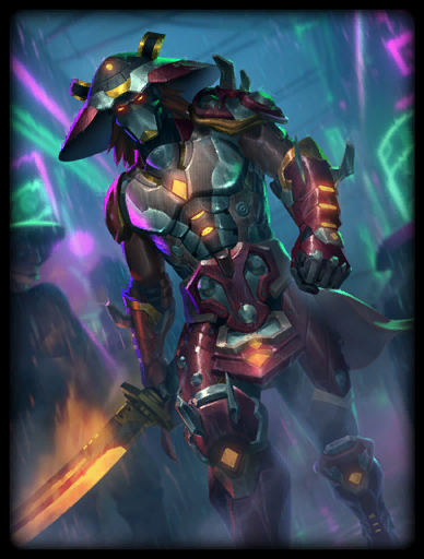 Steel Samurai Skin card