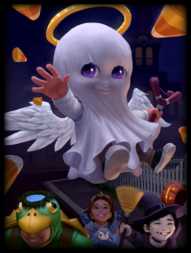 Trick or Treat Skin card