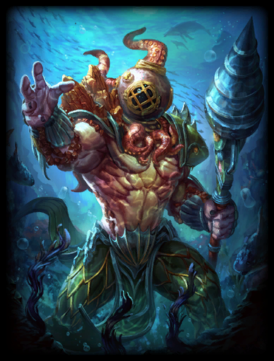 King of the Deep Skin card
