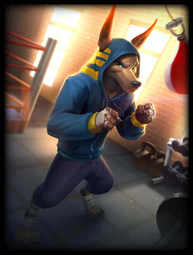 Heavy Hitter Skin card