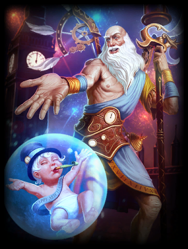 Father Time Skin card