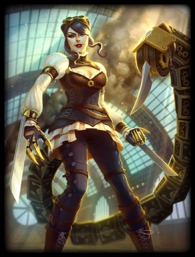Madame Blade Skin card