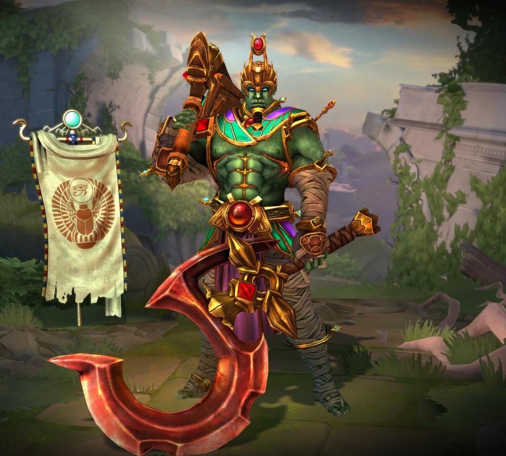 Was Osiris an alien? Why was he always depicted in green