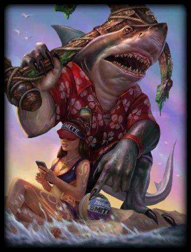 Land Shark Skin card