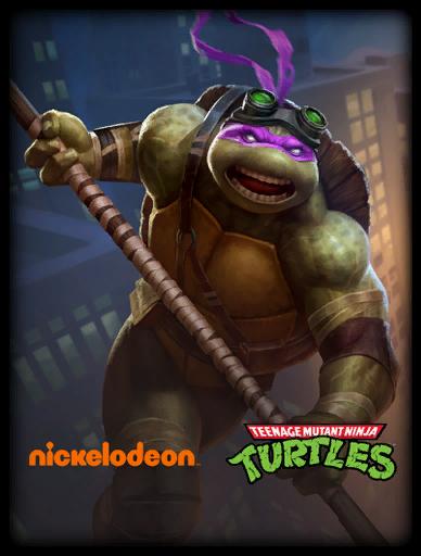 Donatello Skin card