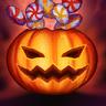 Pumpkin Surprise! Emote