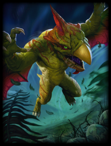 Terror-Dactyl Skin card