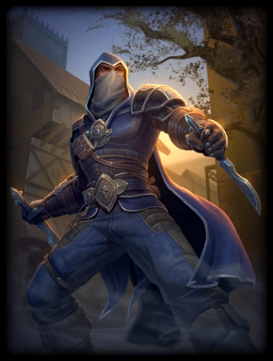 Agent of Darkness Skin card