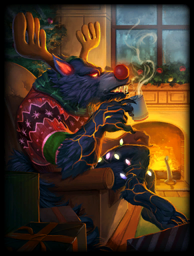 Wreck the Halls Skin card