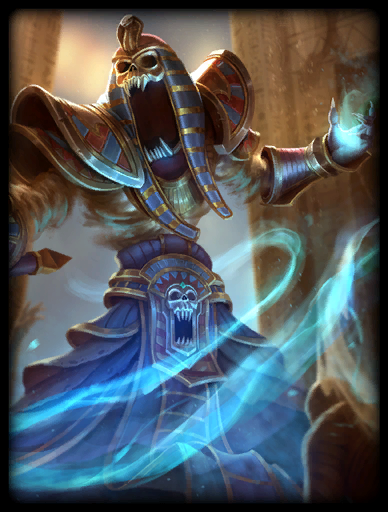 Cursed Pharaoh Skin card