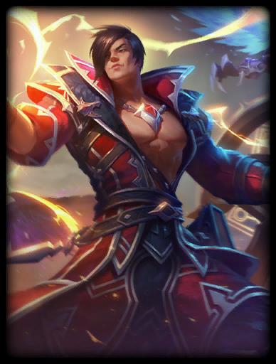Prince of Lightning Skin card