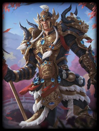Regal Warrior Skin card