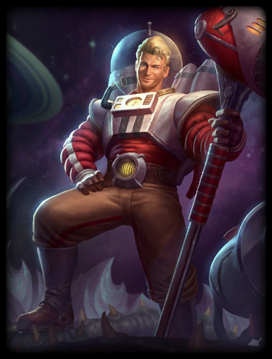 Space Cadet Skin card
