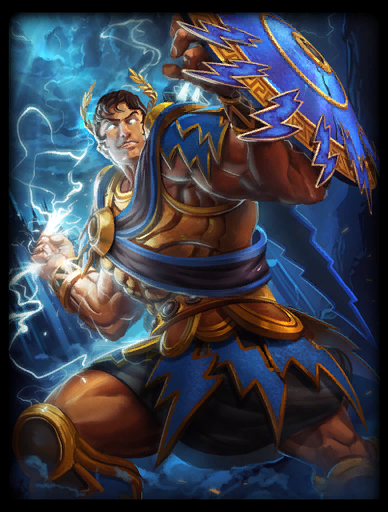 Almighty Skin card