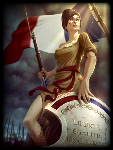 Liberté Skin card