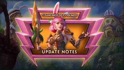 8.9 Bonus - Cleanliness vs. Godliness Bonus Update