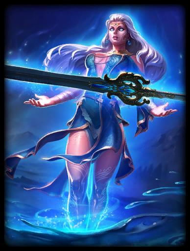 Lady of the Lake Skin card