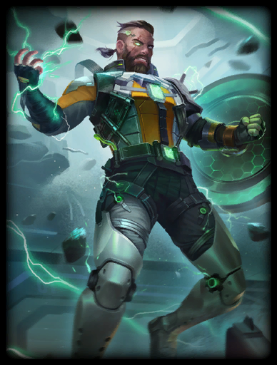 High Voltage Skin card