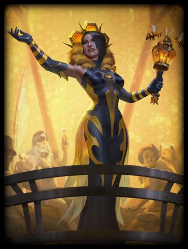 Queen Bee Skin card