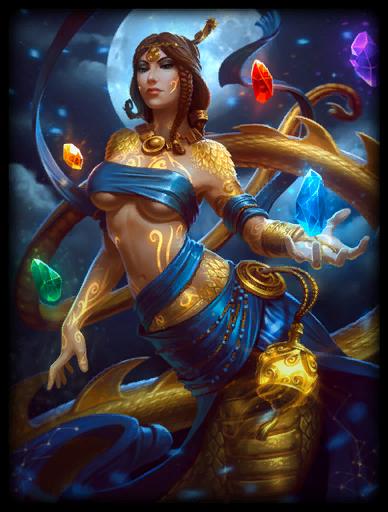 Golden Skin card